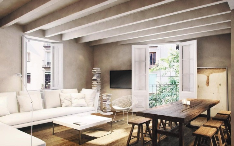 Apartment in Barcelona - ciutat vella. Terrace.3 bedrooms. For sale: 975.000 €.
