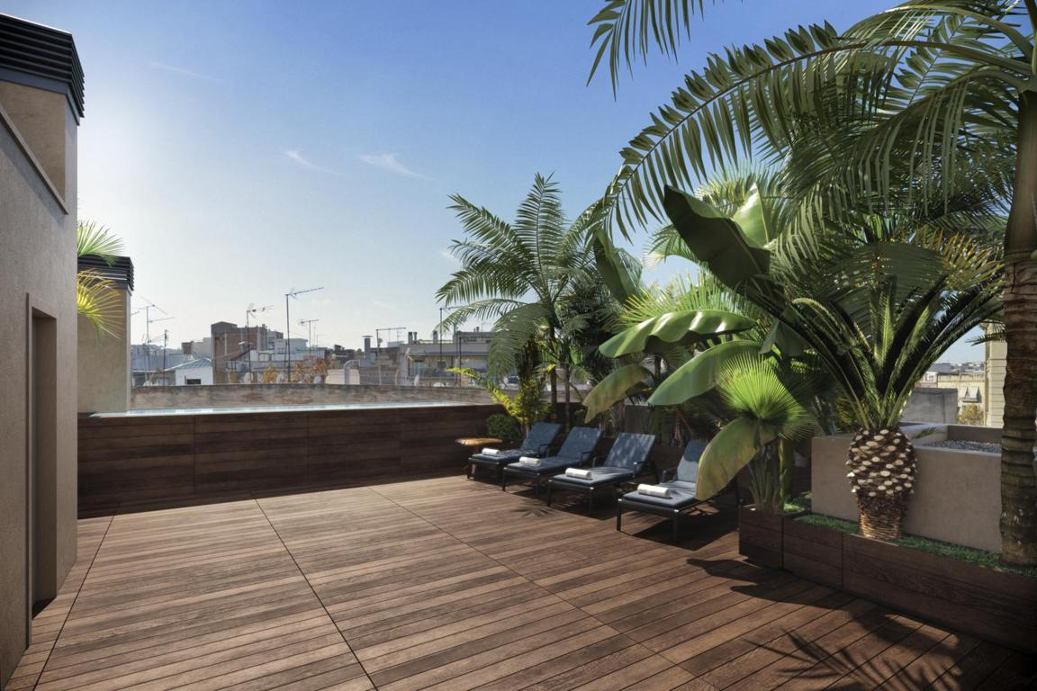 Apartment in Barcelona - ciutat vella. Balcony, Terrace.2 bedrooms. For sale: 486.000 €.