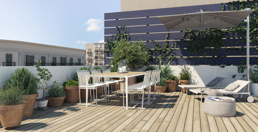 Apartment in Barcelona. Private parking, Terrace.2 bedrooms. For sale: 599.000 €.
