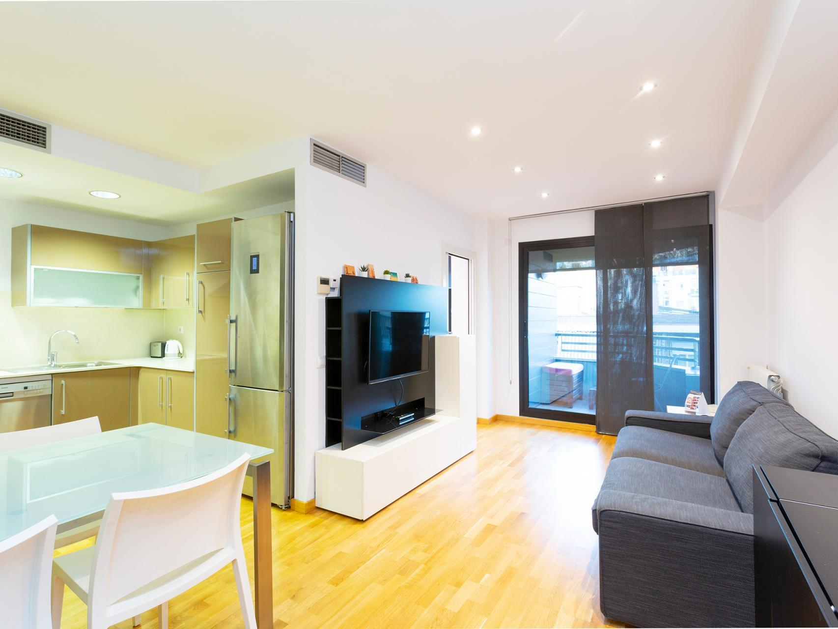 Piso en Barcelona - vila olimpica. Balc�n.3 bedrooms. For sale: 575.000 €.